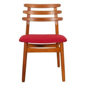 Transitional Style Dining Chair with a Ladder Back Style