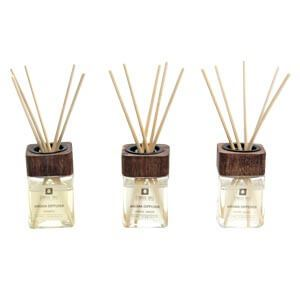 Signature Reed Diffuser Box with Bamboo Water Lilly and Jasmine F...