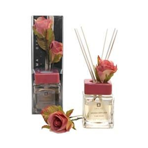 Evergreen Rose Flower Collection Diffuser Box with Tuberose Fragr...