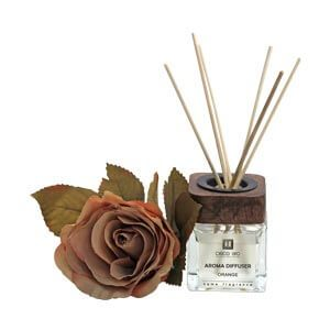 Evergreen Rose Flower Collection Diffuser Box with Orange Fragran...