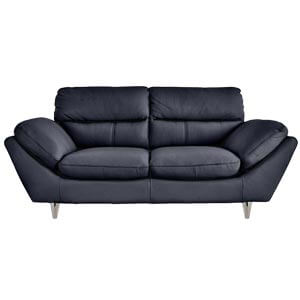 Contemporary Two Seater Leather Sofa with High Density Foam Filli...