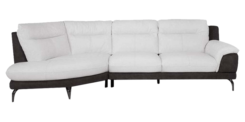 Contemporary 4 Seater Sectional L Type Leather Sofa With