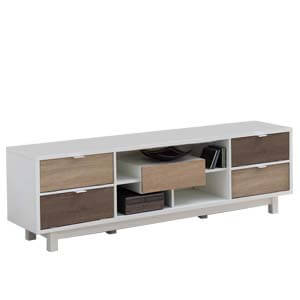 Contemporary Entertainment Unit with Five Drawers