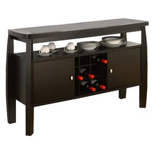 Modern Storage Sideboard with 2 Cabinets