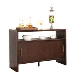 Contemporary Storage Sideboard with Plank Legs
