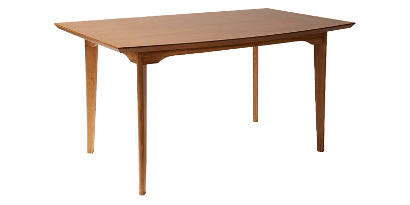 Modern 4 Seater Dining Table With Spacious Rectangular Top