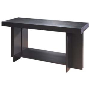 Contemporary Console Table with L-shaped Legs