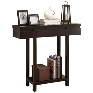 Contemporary Console Table with Long Square Legs