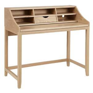 Modern Study Table with cubby storage