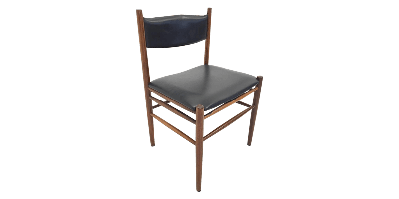 Wooden Dining Chair with Box Stretchers