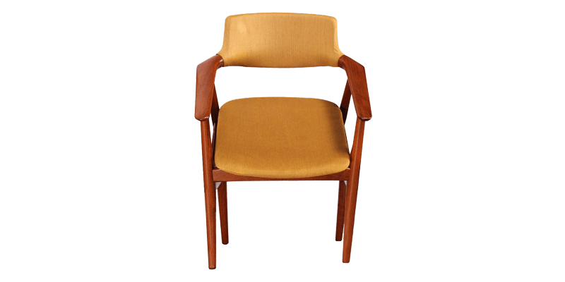 Kitchen Chairs with Arms in Classy Mid-century D...