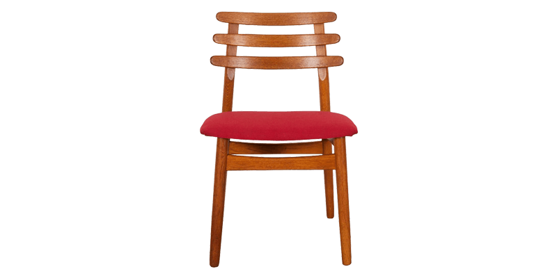 Solid Wood Dining Chair with a Ladder Back Style...