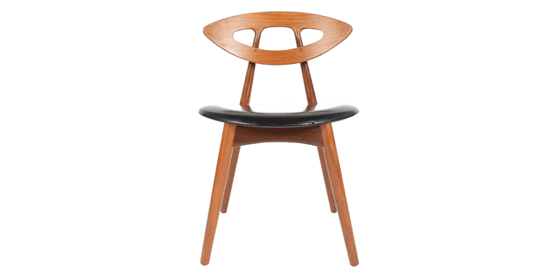 Kitchen Table Chair with Leatherette Upholstery