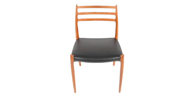 Ladder Back Dining Chair with Tapered Legs