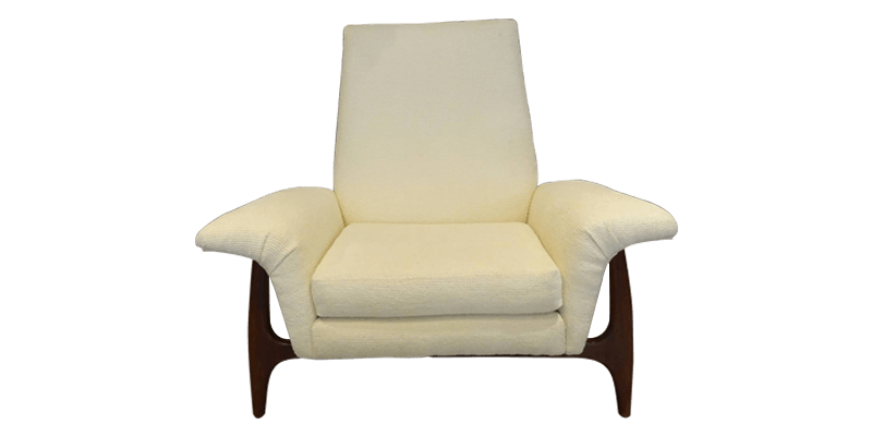 Modern Accent Chair with Padded Arms for Comfort...