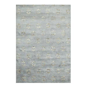 Jaipur Rugs Modern Hand Knotted Slate Bl...