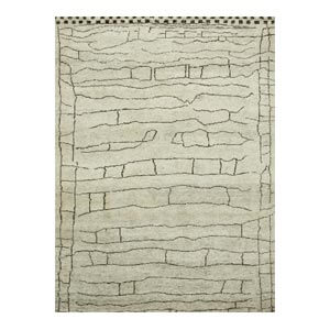 Jaipur Rugs Modern Hand Knotted Wool Nat...