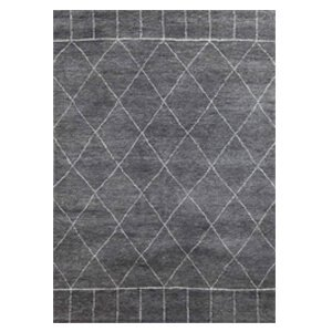 Jaipur Rugs Modern Hand Knotted Charcoal...
