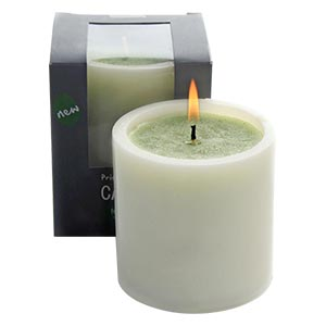 Aromatic Large Sized Decor Candle in See Through Paper Box-fresh ...