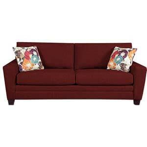 Contemporary Two Seater Sofa with Square Arms