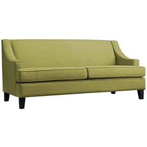 Classic Two Seater Sofa with Wooden Legs