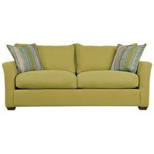 Two Seater Loveseat Sofa with Modish Arms