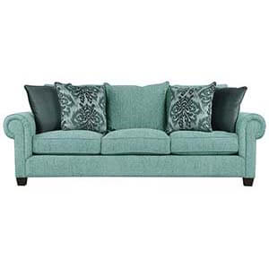 Three Seater Sofa Set with Rolled Arms