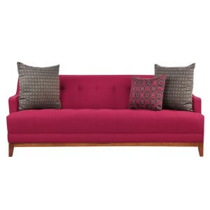 Modern Loveseat Sofa Set with Button Tufting