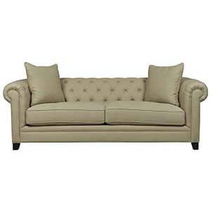 Loveseat Sofa Set with Rolled Arms