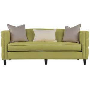 Loveseat Sofa Set with Classic Turned Legs