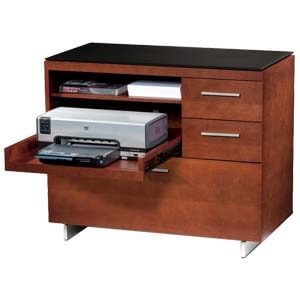 Contemporary Cabinet with Multi-storage