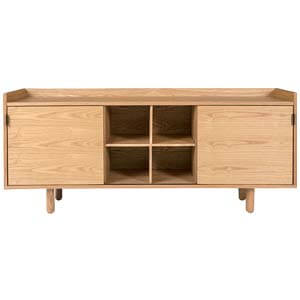 Modern Cabinet with a Retro Silhouette and Stoarge