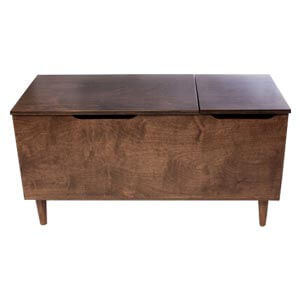 Modern Cabinet with Seating Options and Deep Storage
