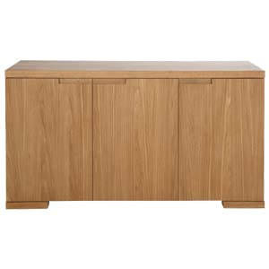 Contemporary Low-rise 3 Door Sideboard with Indented Handles