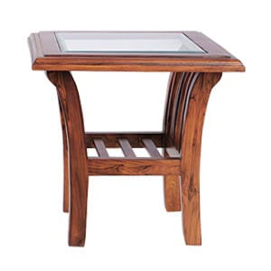 Classic Square Top Coffee Table with Storage