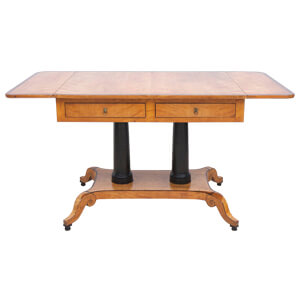 Folding Dining Table featuring Classic Curves