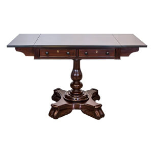 Brown Foldable Wooden Dining Table